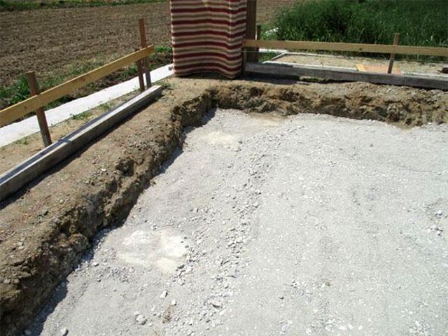 コンクリートによる柱状改良